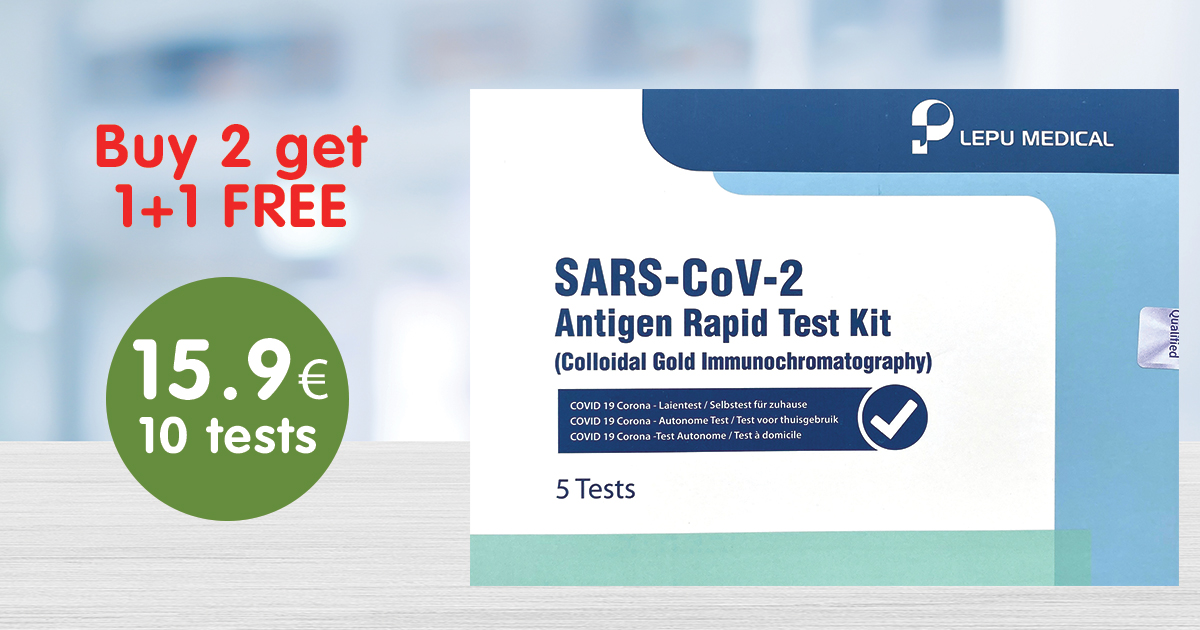 Covid-19 Antigen rapid test Kit now available !