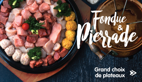 FONDUES & PIERRADES