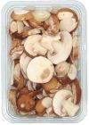 Blond Mushrooms Sliced