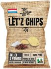 Lët'z Chips Salt & Pepper