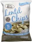 Lentil Chips with Salt