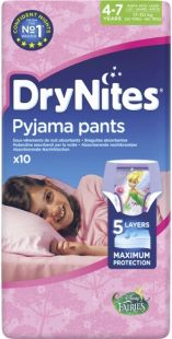 DryNites Girls 4-7 Years