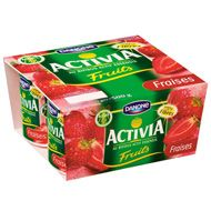 Yoghurt Activia Strawberry