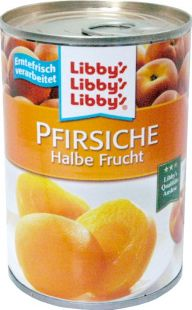 Libby's Peaches