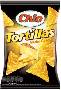 Tortilla Chips Nacho Cheese