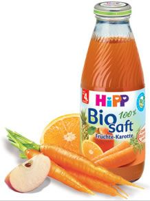 Fruit and Carrot Juice 4+