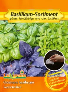 Mix of 3 Basil Seeds