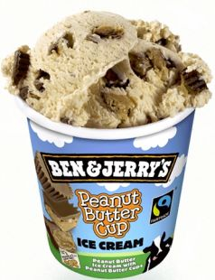 Glace Ben&Jerry Peanuts