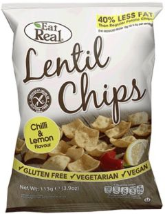 Lentil Chips Chilli Lemon