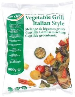 Grilled vegetable mix