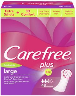 Carefree Plus Large