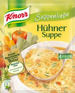 Chickensoup with noodles