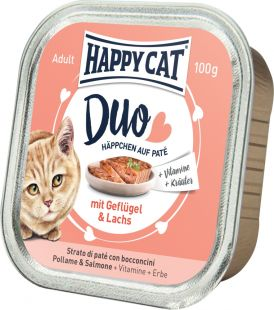 HappyCat Poultry & Salmon