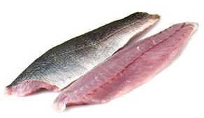 Filet of trout fish
