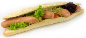 1/2 Baguette Saveloy