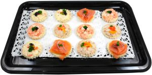 Platter of Canapés from Sea