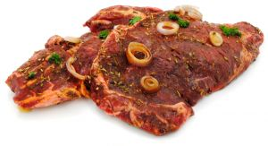 Marinated Rib steak of beef