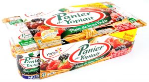 Panier of Yoplait