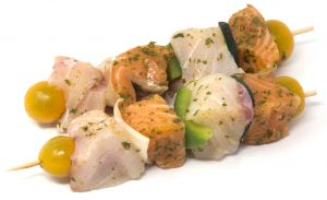 Mix Fish Skewers