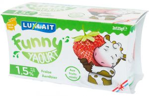 Yoghurt Funny Strawberr.