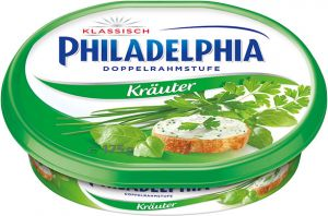 Philadelphia with herbs