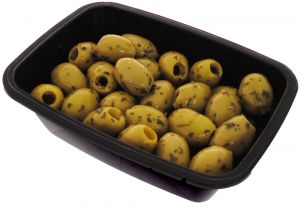 Green Olives with Herbs