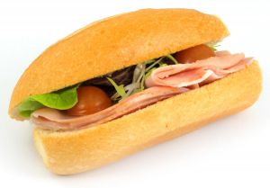 Sandwich Cooked Ham