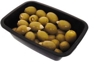 Green Olives with Almonds