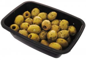 Green Olives with Garlic