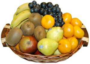 Small Organic Fruit Basket