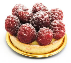 Raspberries Small Pie