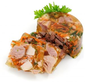 Aspic with Chicken
