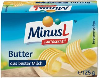 Lactose Free* Butter