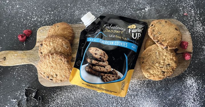 Les American Cookies Farin'up rapides et simples