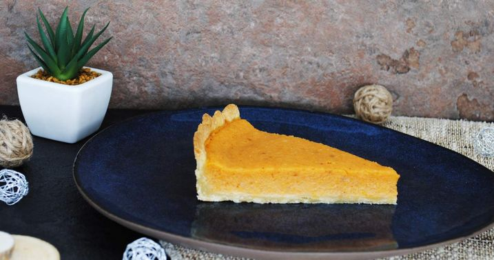 La traditionnelle Pumpkin Pie de Thanksgiving