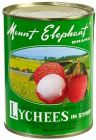 Lychees in sirup